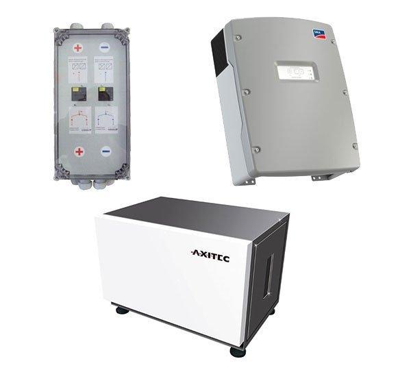 AXITEC Energy LI 10S x 2 16.0 + SMA Sunny Island 6.0H