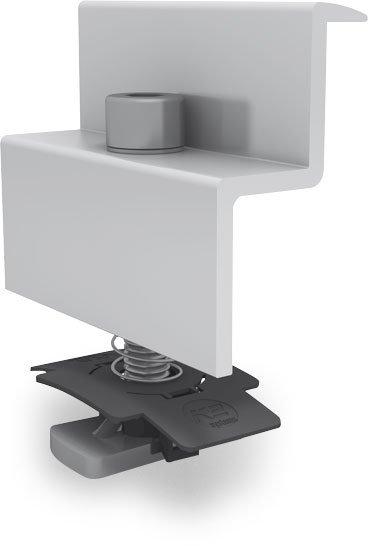 K2 regulowana klema koncowa, 49-50mm, zestaw