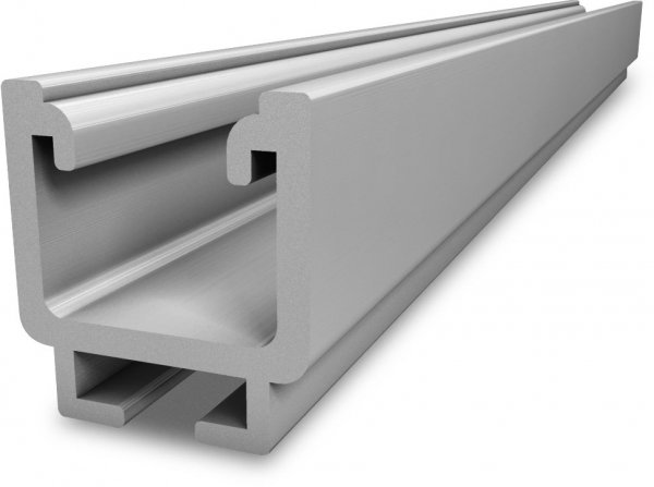 K2 Medium-Rail 42 aluminiowa szyna montazowa, wzmocniona, 4,3m - nowy
