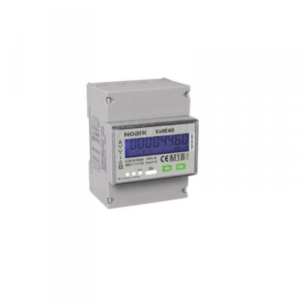 Licznik energii inteligentny Noark Ex9EMS 3-fazy - pomiar bezpośredni