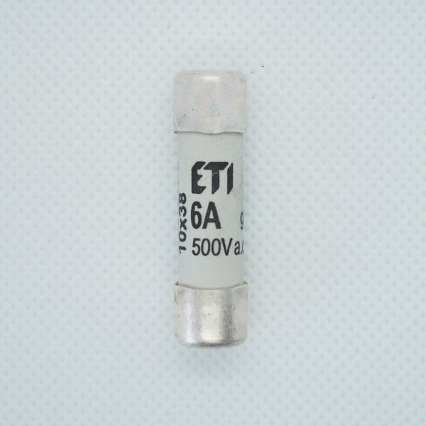 Wkładka bezpiecznikowa 10x38 6A 500V AC ETI