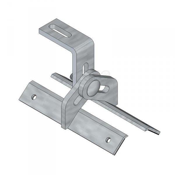 Uchwyt montażowy z regulacją do blachy trapezowej (K-13)