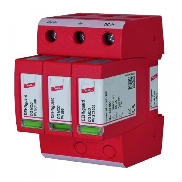 Ogranicznik przepięć DC DEHNguard M YPV SCI 1000 3P Typ II