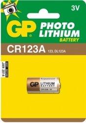GP Bateria litowa CR123A BL/1 Photo Lithium