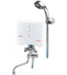 BIAWAR OSCAR ogrzewacz wody umywalkowo-natryskowy OP5-S