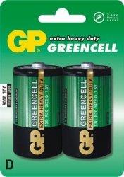 GP Bateria cynkowo-chlorkowa R20 Greencell BL/2
