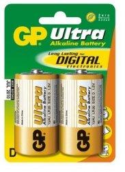 GP Bateria alkaliczna LR20 Ultra Alkaline BL/2
