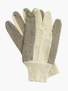 Rękawice ochronne drelichowe nakrapiane RN