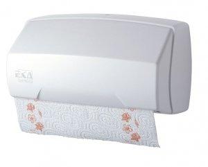 Pojemnik na ręczniki paierowe rolka biały