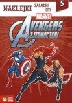 Avengers zjednoczeni - naklejki, zagadki, gry (5)