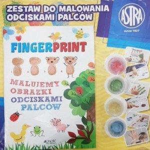 Fingerprint - malujemy obrazki odciskami palców