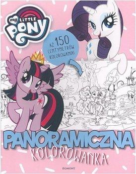 Panoramiczna kolorowanka. My Little Pony