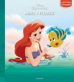 Księżniczka Ariel i Florek. Ilustrowana czytanka