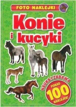 Konie i kucyki. Foto naklejki