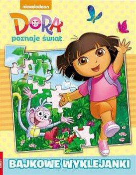 Dora poznaje świat. Bajkowe wyklejanki