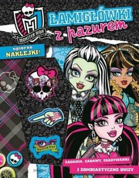 Monster High. Łamigłówki z pazurem