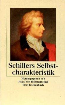 Schillers Selbstcharakteristik