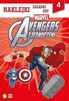 Avengers Zjednoczeni Część 4 Naklejki zagadki gry