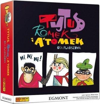 Tytus, Romek i Atomek - Gra planszowa