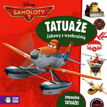 Samoloty. Tatuaże zabawy z wyobraźnią