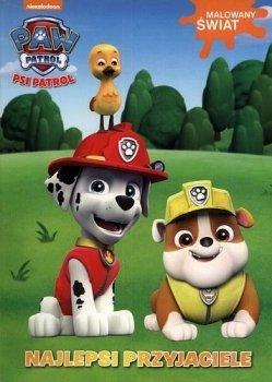 Psi Patrol. Najlepsi przyjaciele. Malowany świat