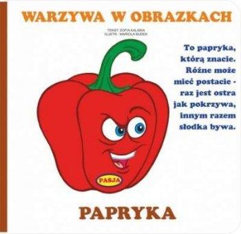 Warzywa w obrazkach. Papryka
