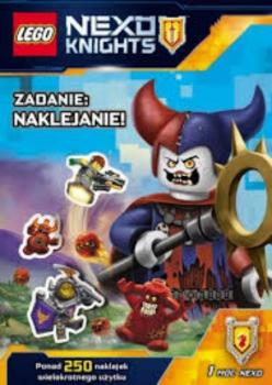 Lego Nexo Knights. Zadanie: naklejanie!