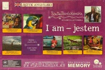 I am - jestem. Gra edukacyjna Memory językowe