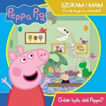 Gdzie była dziś Peppa? Peppa Pig, Co kryje się na obrazku
