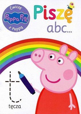 Świnka Peppa. Ćwiczę z Peppą. Piszę abc...