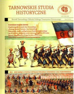 Tarnowskie Studia Historyczne (2012)