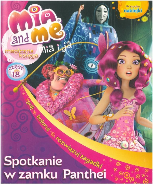 Mia and Me 18. Spotkanie w zamku Panthei