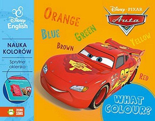 Sprytne okienka. What Colour? Disney English