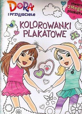 Dora i przyjaciele. Kolorowanki plakatowe