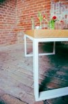 Stolik dębowy Loft Wood A3