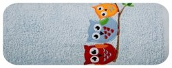 Ręcznik dziecięcy BABY15 Niebieski 50X90 450gsm
