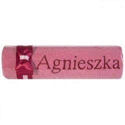 Ręcznik AGNIESZKA 50X90 Róż