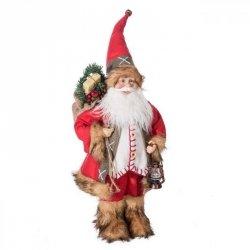 Ozdoba świąteczna MIKOŁAJ MAX1 22X16X45