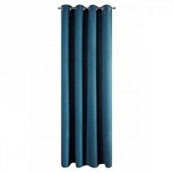 Zasłona MIRONA Ciemny Niebieski 140X250 Eurofirany