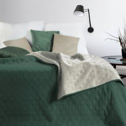 Narzuta VIKI  Design 91  220X240 Zielony/Srebrny