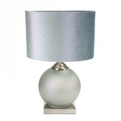 Lampa dekoracyjna JESSIE 38X58 Srebrny
