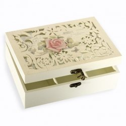 Pudełko SARA 01 Krem 22X18X8
