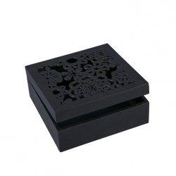 Pudełko DAISY 01 Czarne 16X16X6