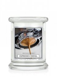Kringle Candle - Espresso Crema - mały, klasyczny słoik (240g)