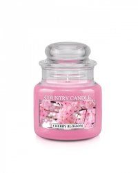 Country Candle - Cherry Blossom - Mały słoik (104g)