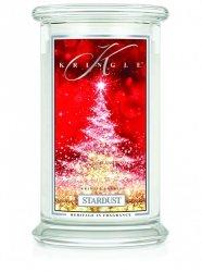 Kringle Candle - Stardust - duży, klasyczny słoik (623g) z 2 knotami