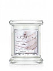 Kringle Candle - Warm Cotton - mini, klasyczny słoik (128g)