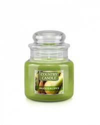 Country Candle - Anjou & Allspice - Mały słoik (104g)