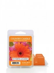 Country Candle - Sunshine & Daisies - Wosk zapachowy potpourri (64g)