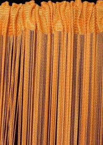 Firana SPAGETTI 3 90X250 Pomarańczowy
